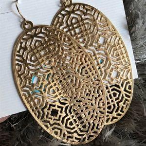 Premier Designs Gold Earrings